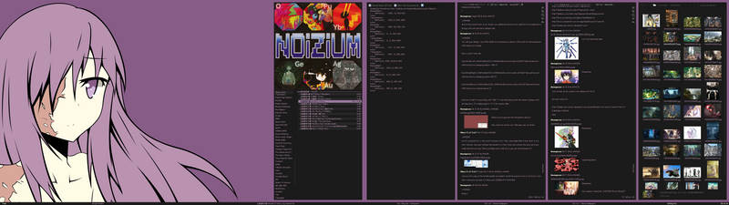 Purple Hanako 12/6/12 by nomnomking