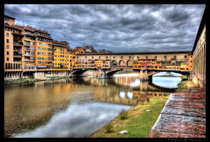 Rain on Florence by colpewole