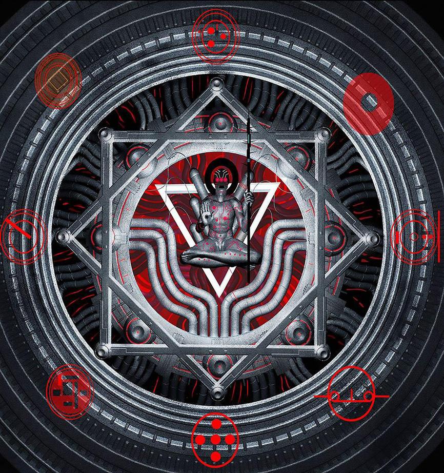 Dark God 2 by SpyrosVerykios-ComiX