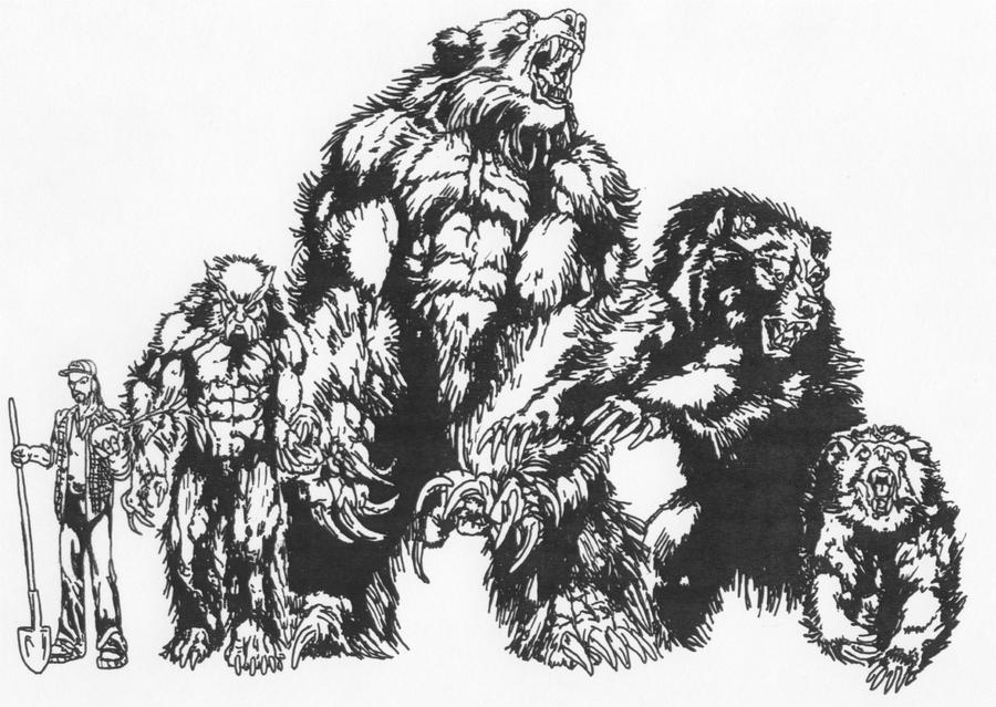Werebear Forms by Stonegate