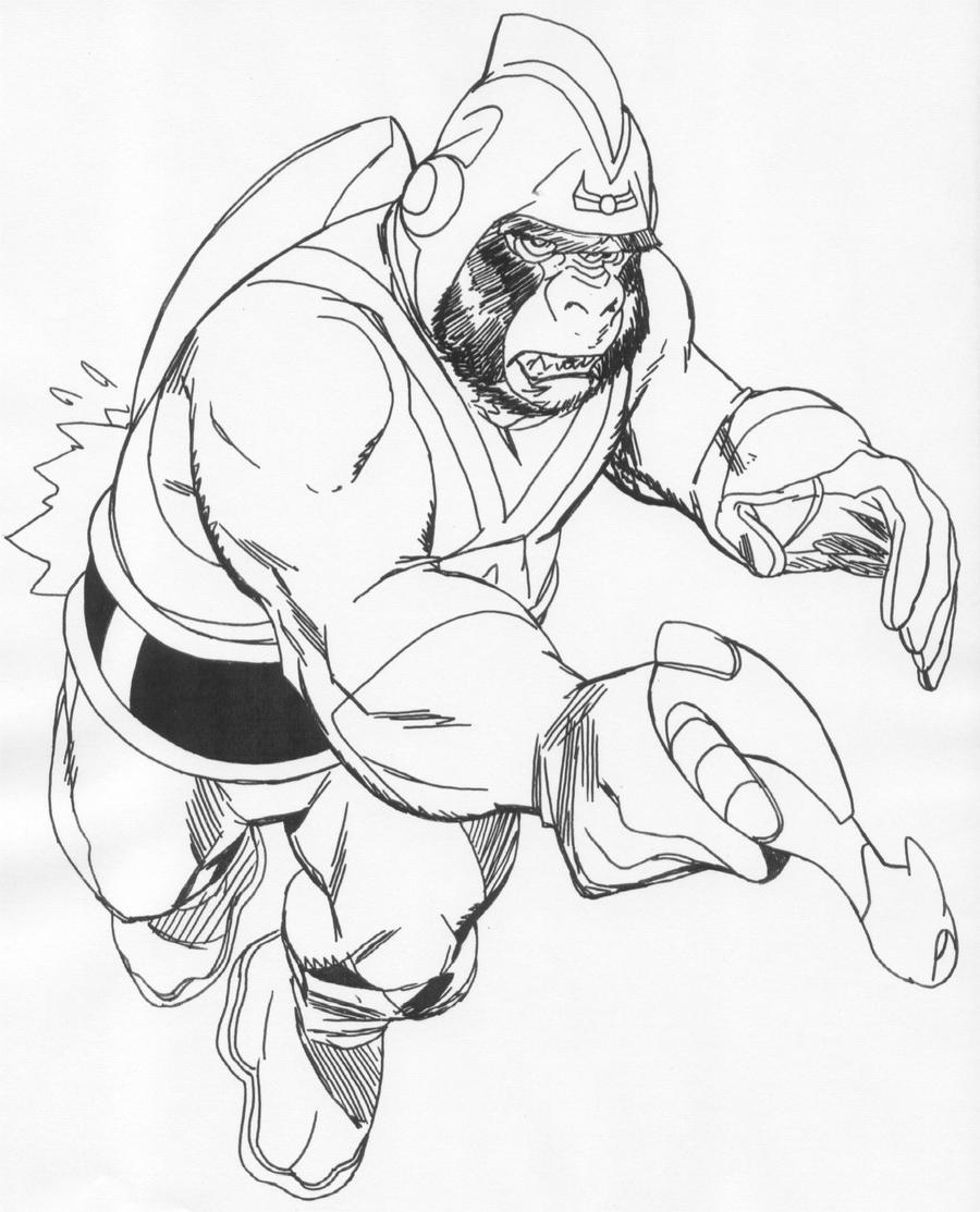 Gorilla Adam Strange By Ringo By Stonegate On DeviantArt