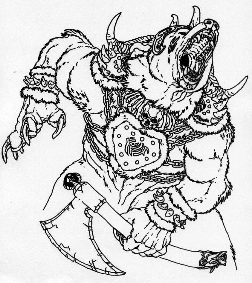 Werebear by Jaime Sidor by Stonegate