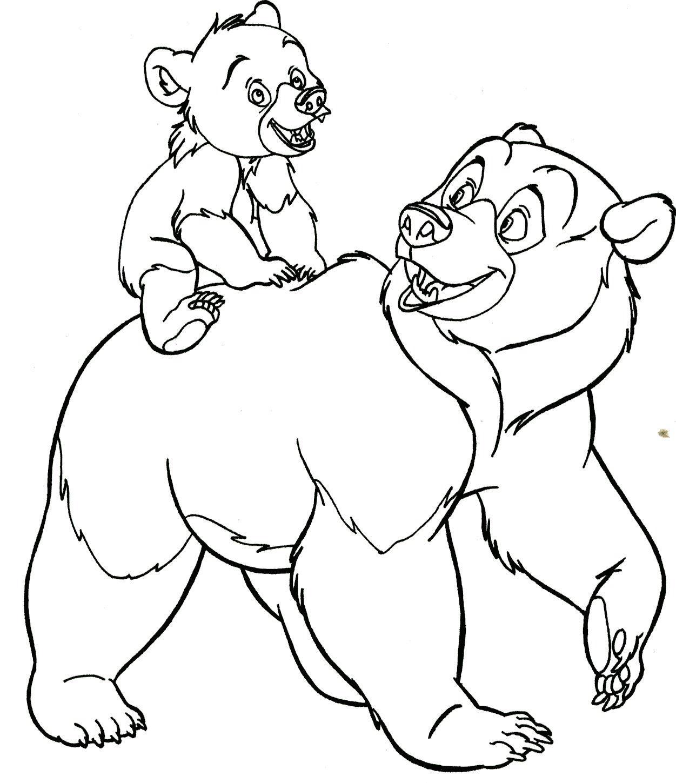 Brother Bear Koda Drawing