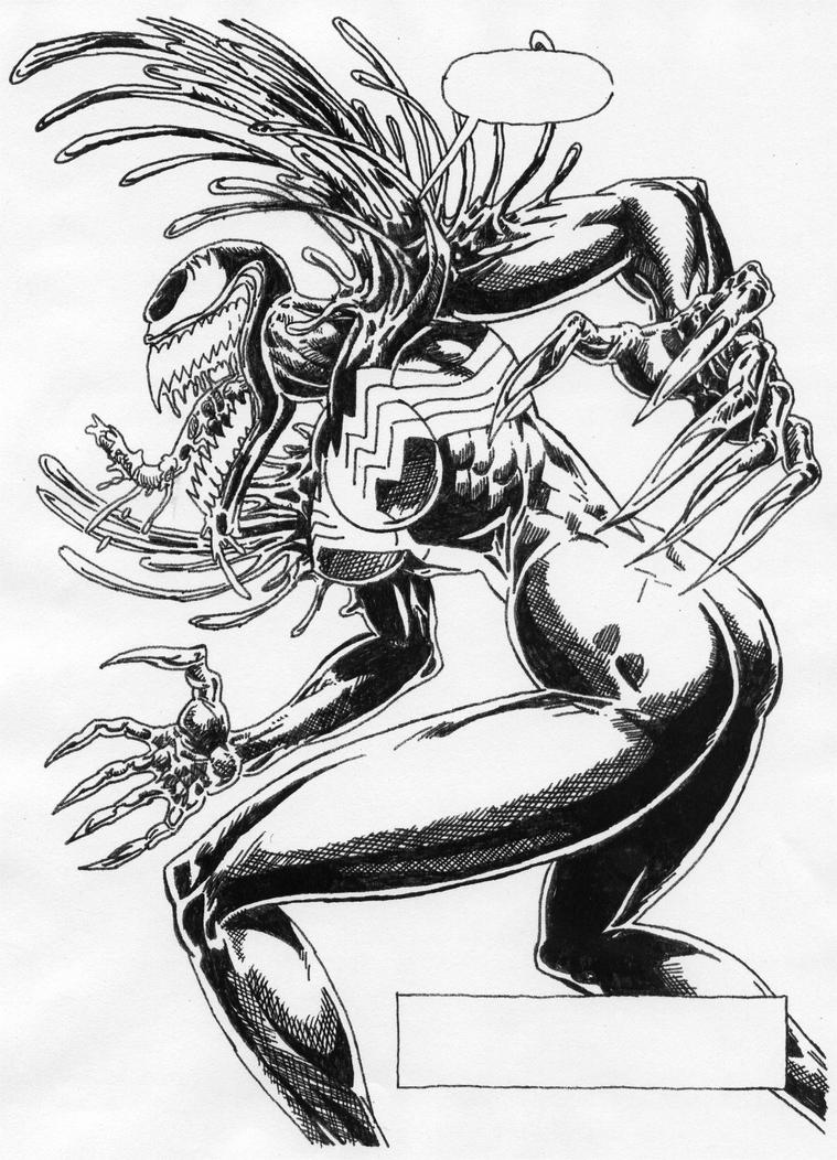 bride of venom by stonegate on deviantart