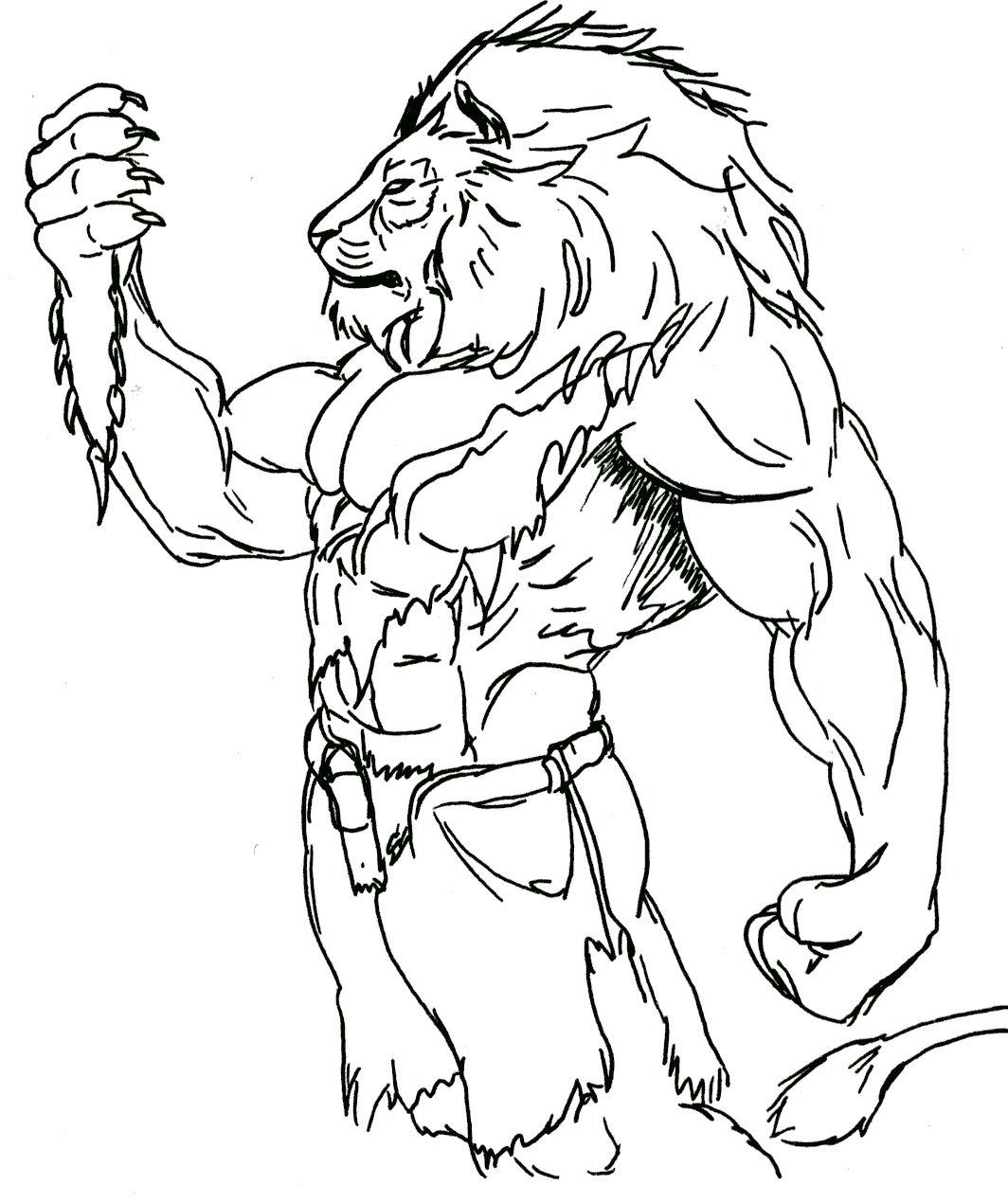 Lion TF by RWolf by Stonegate on DeviantArt