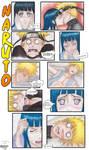 Naruto manga - Naruto and Hinata