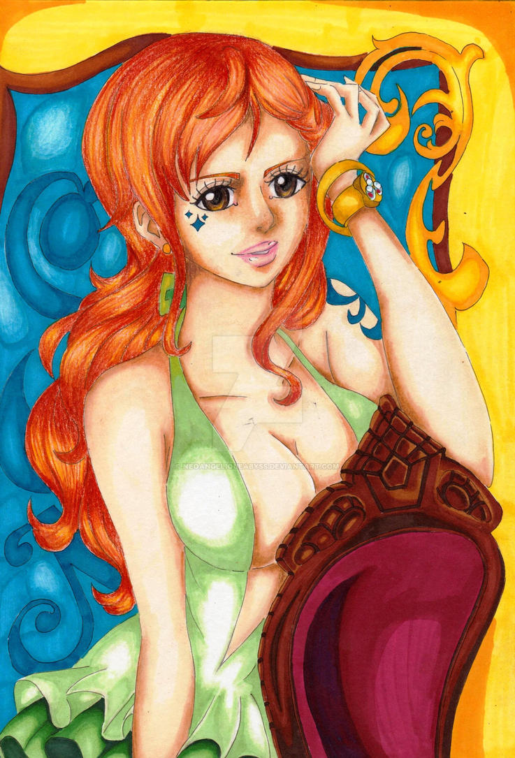 Nami - January by NeoAngeliqueAbyss