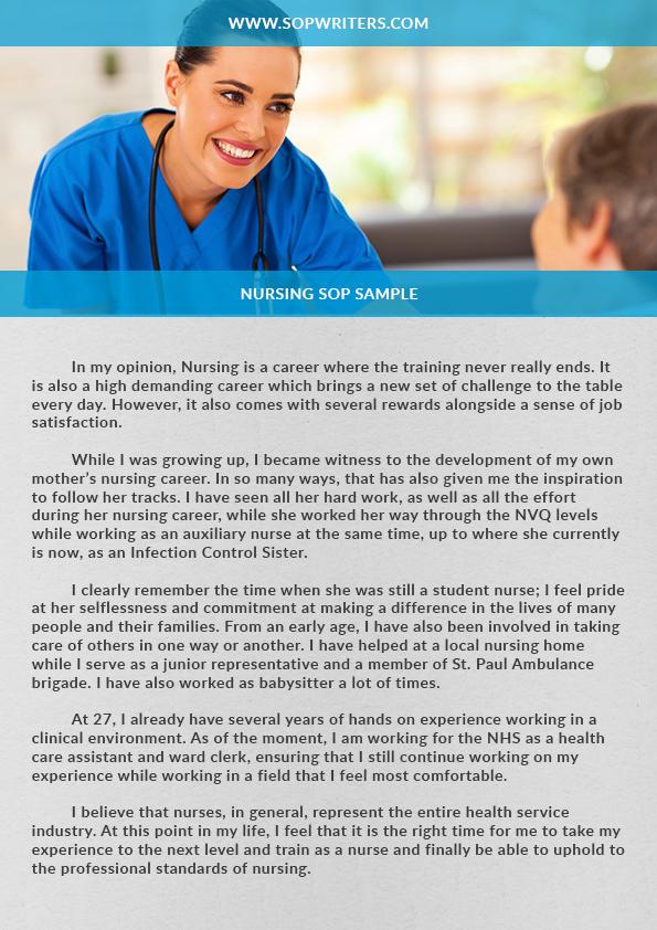 Nursing SoP Sample by sopwriting on DeviantArt