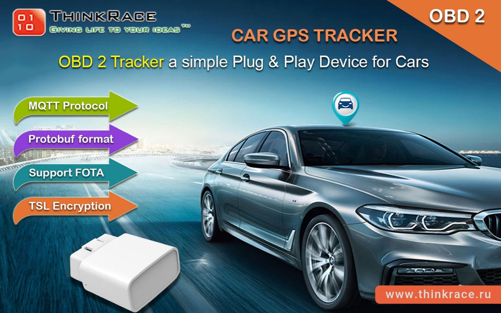 Best GPS Car Tracker Manufacturers- ThinkRace Tech by
