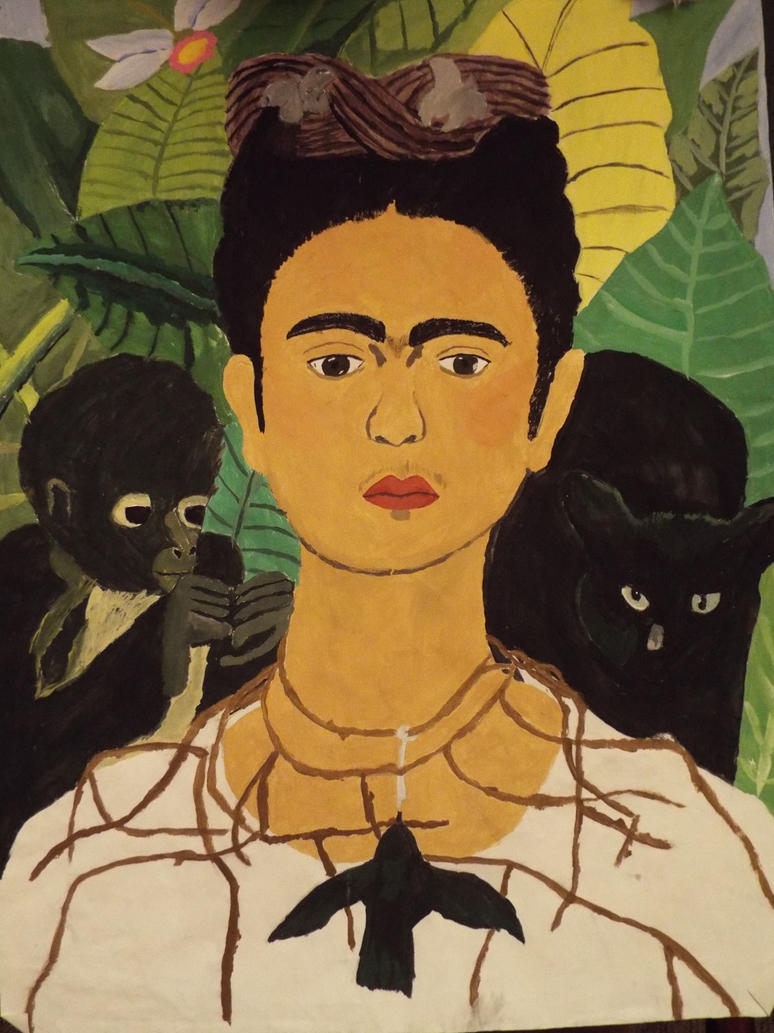 the portrayal and use of negative life experiences in the artworks of frida kahlo Frida kahlo , who suffered a lifetime of pain due to polio and a near-death accident, and worked at a time when few women of color were recognized artists, opened up to one thing throughout her life: painting.