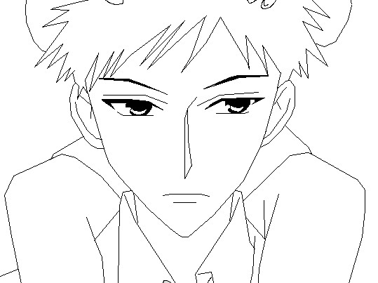 takashi morinozuka coloring pages - photo#1