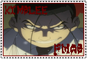 Fullmetal Alchemist Brotherhood: Kimblee Stamp by albertxlailaxx
