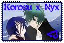 KorosuxNyx Stamp by albertxlailaxx