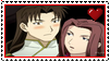 Hero Tales- Ryuko x Rinmei Stamp by albertxlailaxx