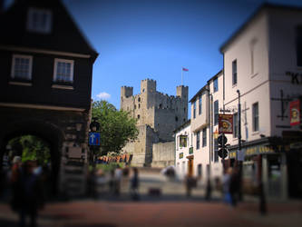 Rochester Castle -  Northgate by deepblank