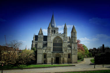 Rochester Cathedral by deepblank