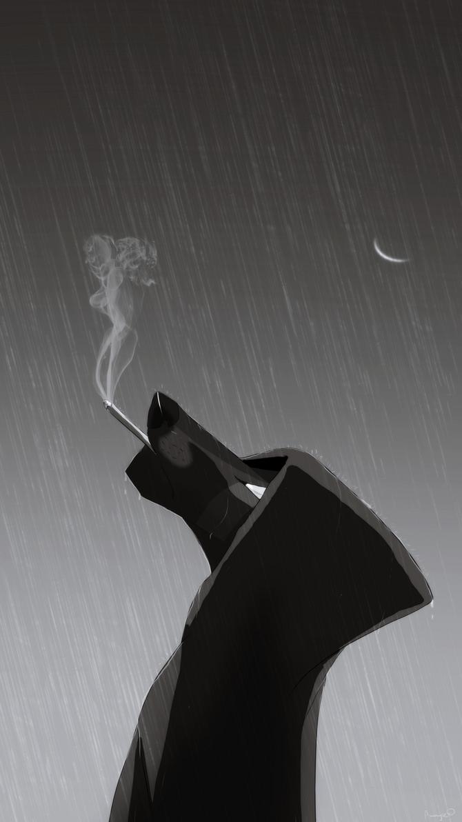 cigarette smoke by Ammyse