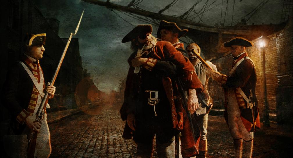 Captain Kidd's Capture