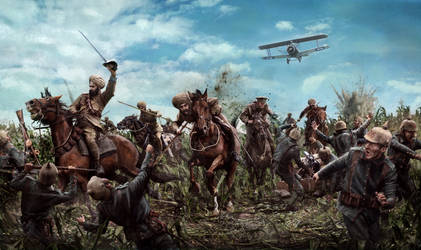 Battle of the Somme - High Wood by ChrisRawlins