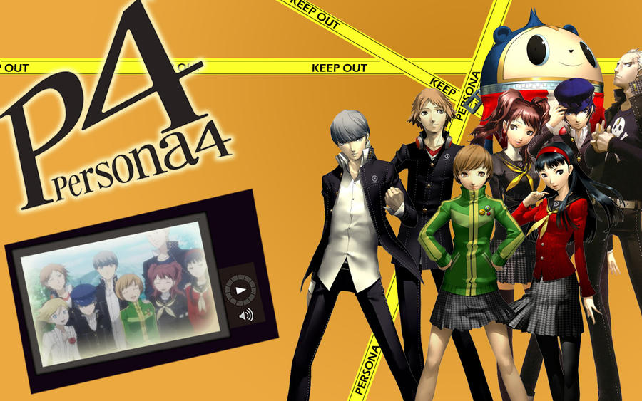 Persona 4 Wallpaper By Hearts Passion On Deviantart