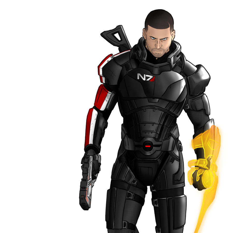 Mass Effect 3 by HerpDerp187