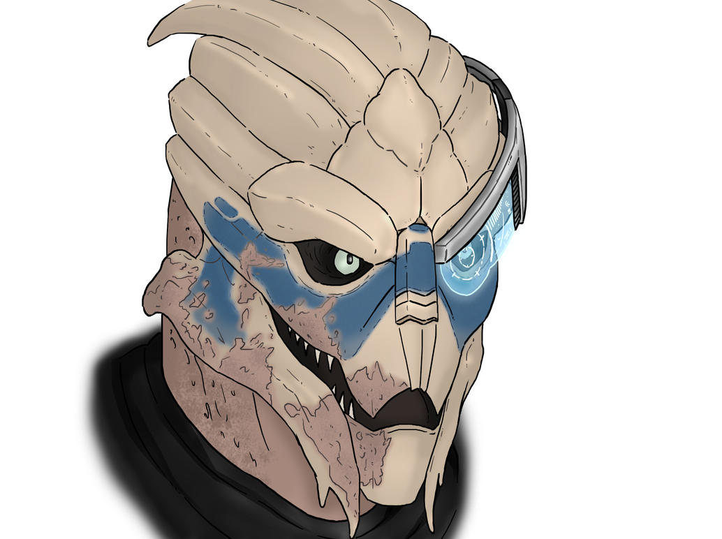Mass Effect Garrus by HerpDerp187