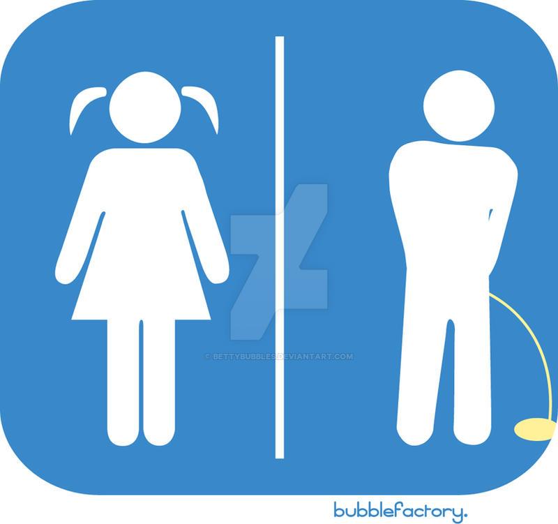Toilet Logo Bubbles: Peeing by BettyBubbles on DeviantArt
