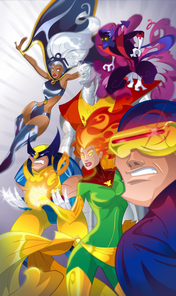 70's X-Men by pushfighter