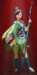 Bounty hunter Mulan by pushfighter