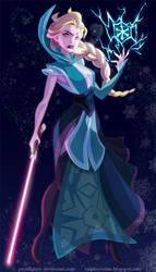 Sith Elsa by pushfighter