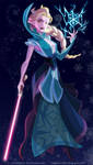 Sith Elsa by pushfighter