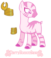 My Little Pony: Friendship is Magic - Zebra Base by Barista-PumpkinSpice