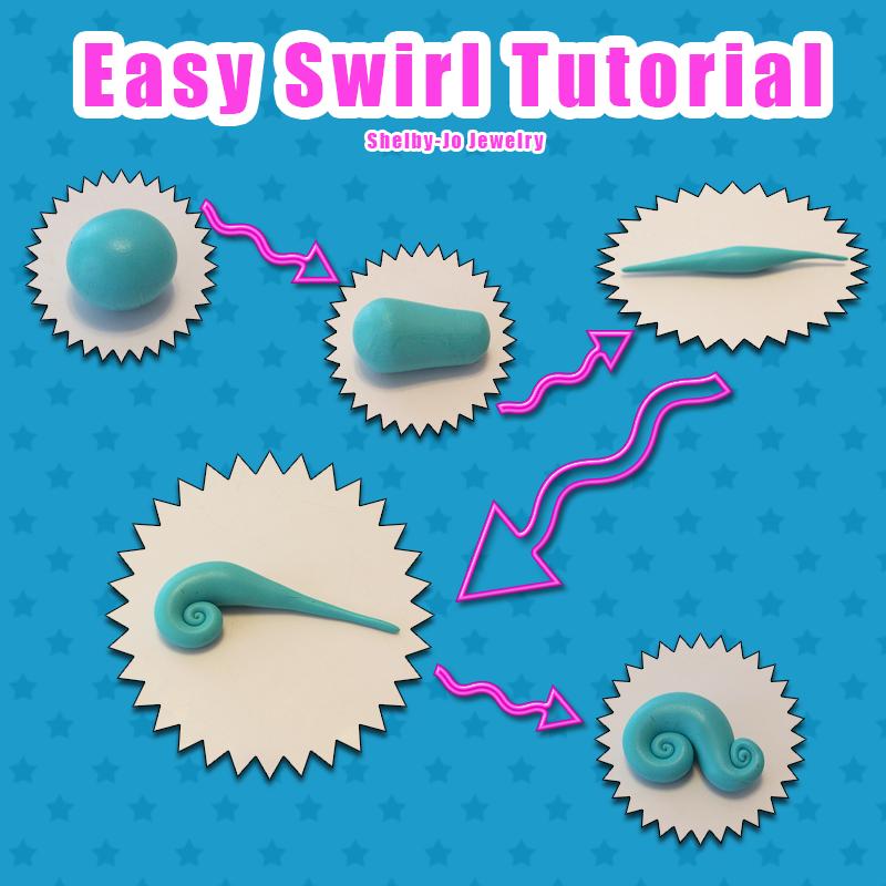 Easy Swirl Tutorial by Shelby-JoJewelry