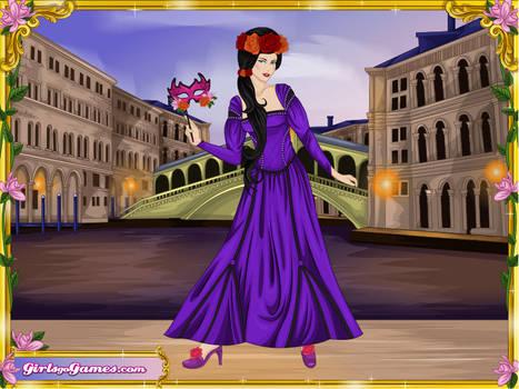 Blackrain-as-a-Venetian-Princess