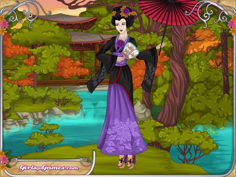 Blackrain-as-an-Ancient-Japanese-Dynasty-Princess