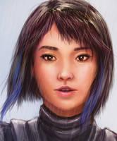 Mako Mori from Pacific Rim by khuon