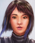 Mako Mori from Pacific Rim