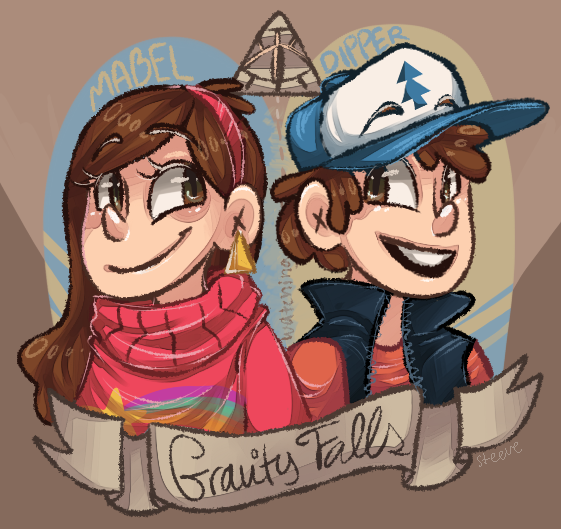 Gravity Falls by TheKnysh