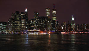 NYC Skyline 1 - August 2001 by DGJ13
