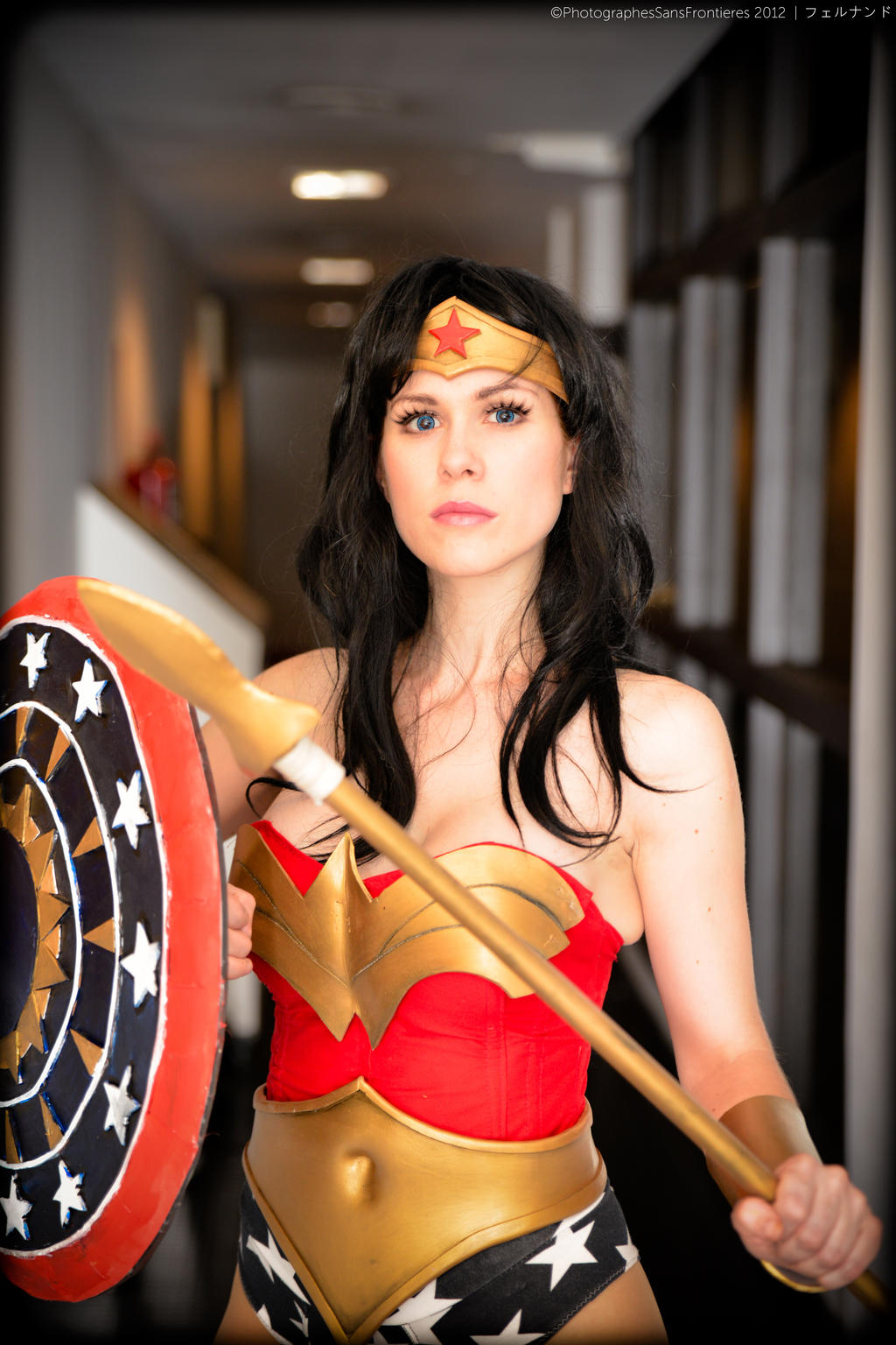 The Amazon itself: Wonder Woman by ferpsf