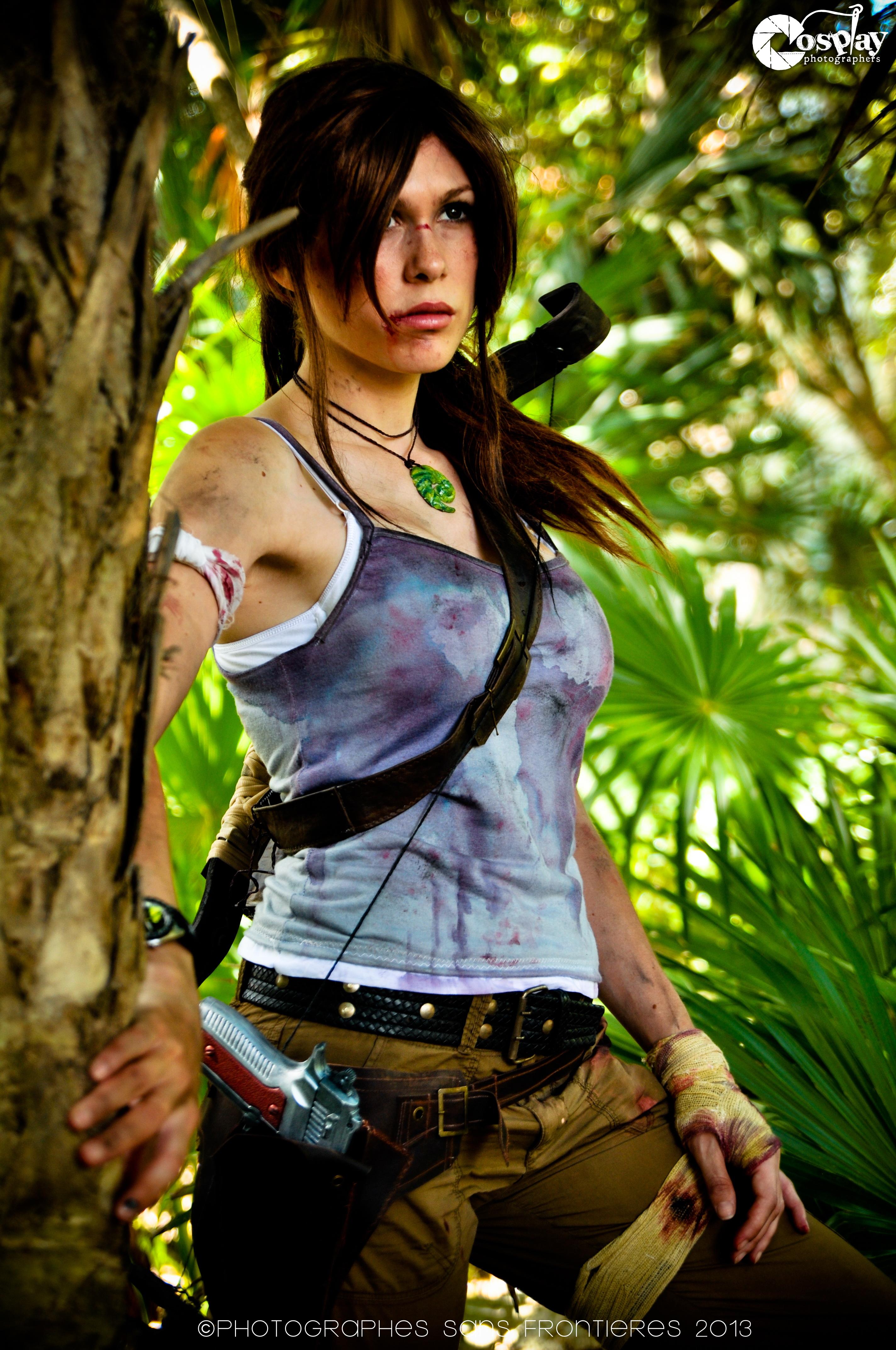 Lara Croft the new beginning -
