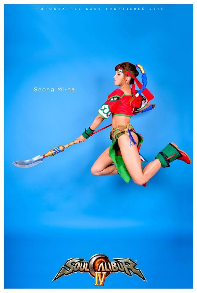 Seong Mi-na: Take this!!!! by ferpsf