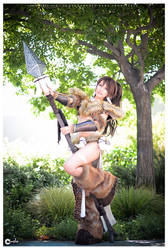 Nidalee stand - League of Legends by TASHA by ferpsf