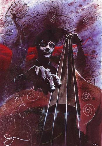 bassist by denerimon