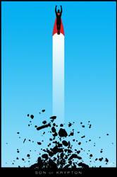 Superman Poster V1 by DanielMurrayART