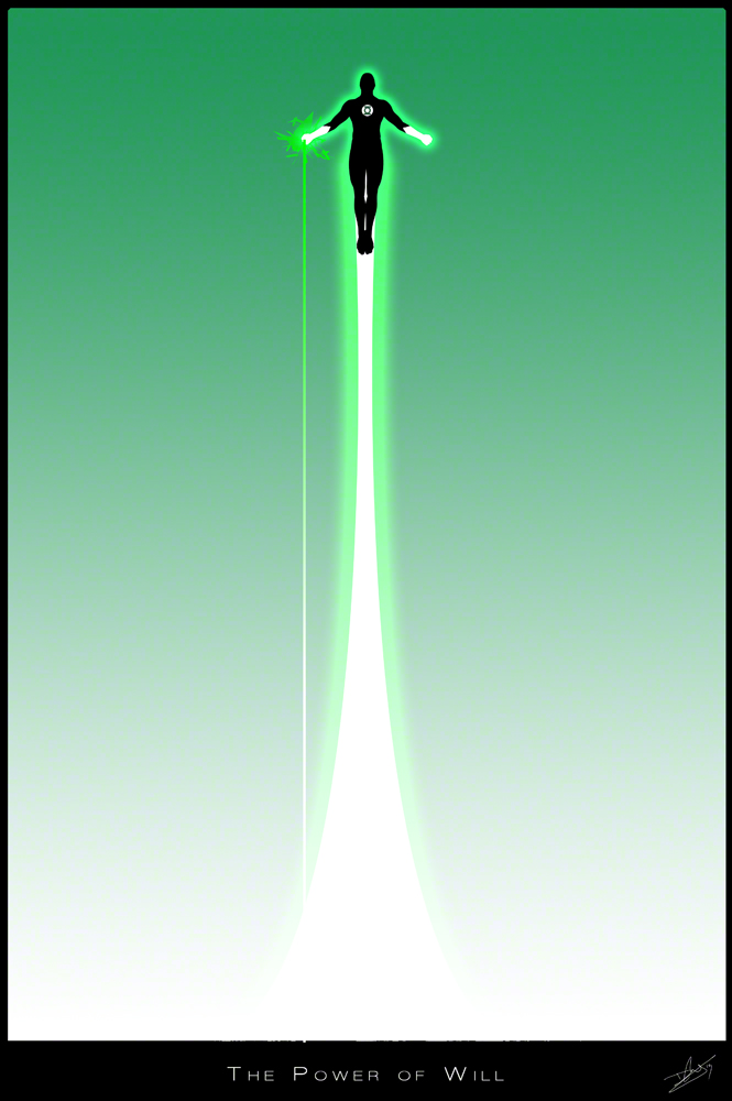 Green lantern Poster V1 by DanielMurrayART