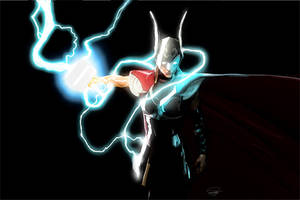The Mighty Thor X by DanielMurrayART