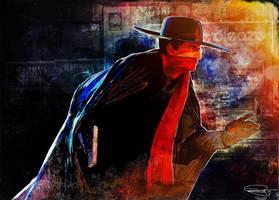 The Shadow - Alleyway by DanielMurrayART