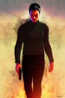 007 Portrait by DanielMurrayART