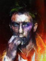Daniel Craig as John Constantine by DanielMurrayART